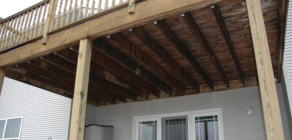 Underdeck Under Deck System Dry Under Deck The
